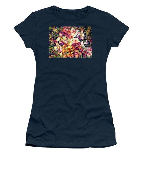 Orchid Garden II Women's T-Shirt