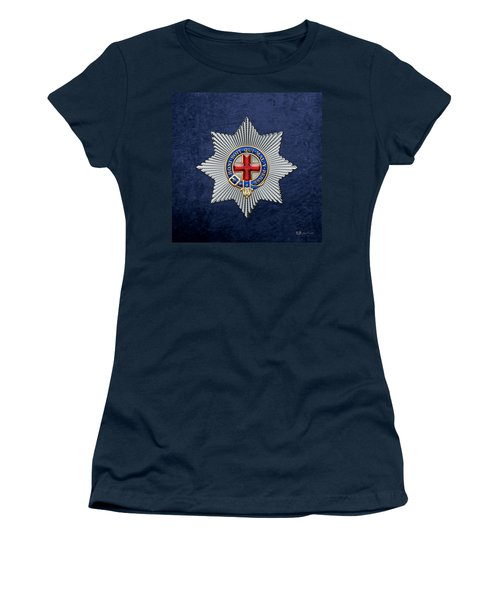Order Of The Garter Star On Blue  Women's T-Shirt