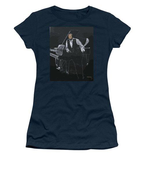 Oscar Peterson Women's T-Shirt (Athletic Fit)
