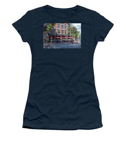Oudoors Restaurant Vancouver Women's T-Shirt (Athletic Fit)