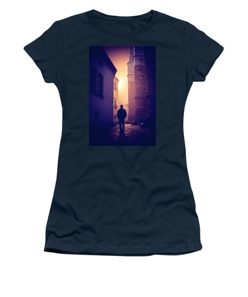 Women's T-Shirt (Junior Cut) featuring the photograph Out Of Time by Jenny Rainbow