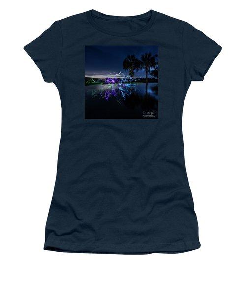 Palm Lights Women's T-Shirt
