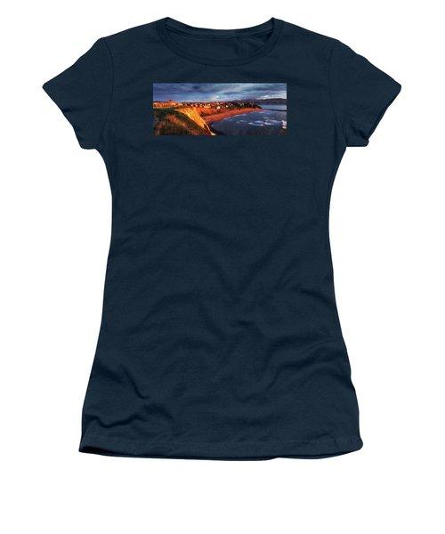 Panorama Of Aixerrota Sunset Women's T-Shirt