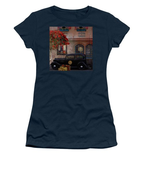 Paris In Spring Women's T-Shirt (Athletic Fit)