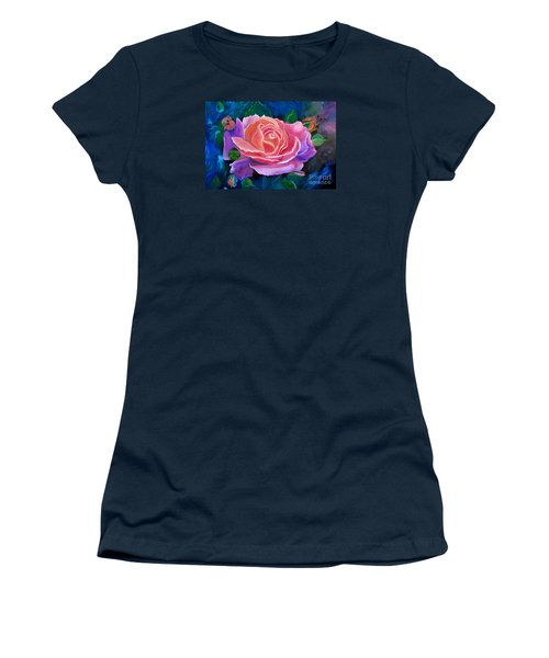 Gala Rose Women's T-Shirt (Junior Cut) by Jenny Lee