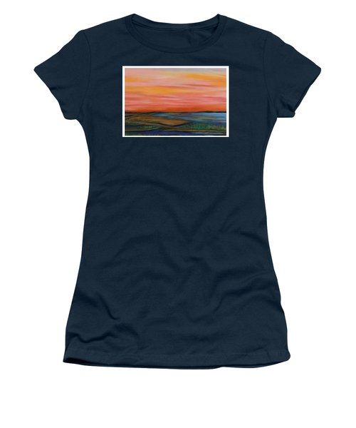 Path To Peace Women's T-Shirt (Athletic Fit)