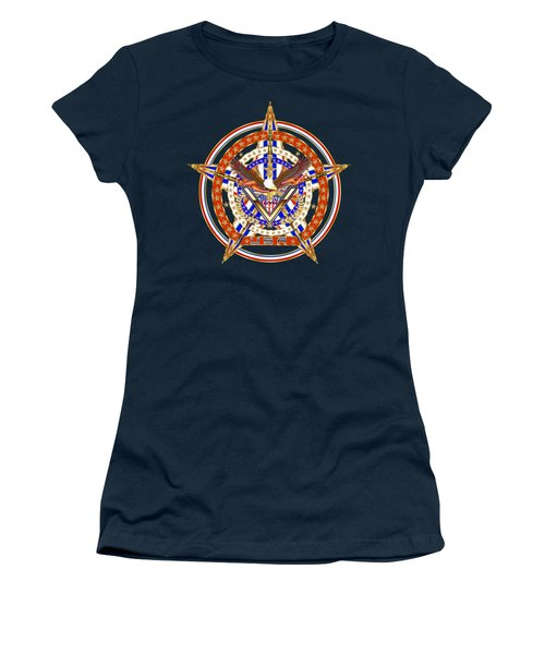 Patroitic-veteran Women's T-Shirt (Athletic Fit)