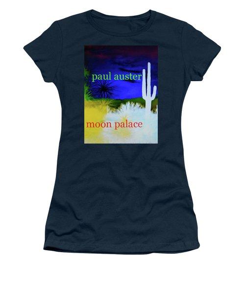 Paul Auster Poster Moon Palace Women's T-Shirt