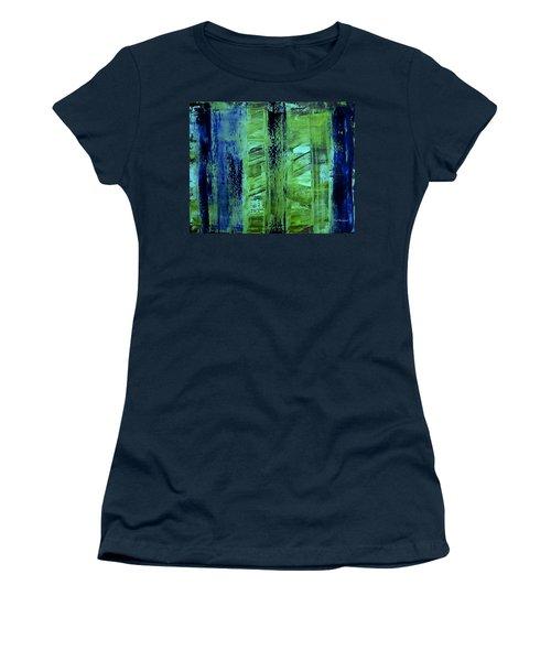 Peeking Through The Blinds Women's T-Shirt