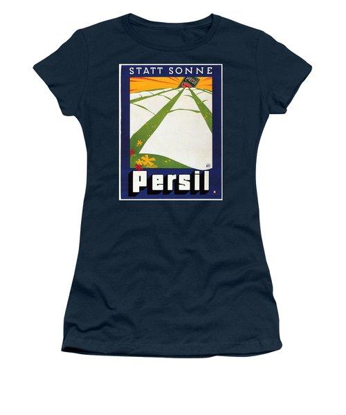 Persil - Statt Sonne - Vintage Advertising Poster For Detergent Women's T-Shirt