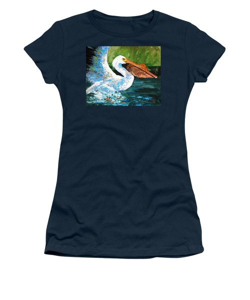Pete Coming In For A Landing Women's T-Shirt (Junior Cut) by Suzanne McKee