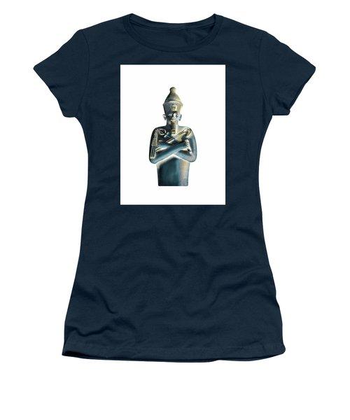 Women's T-Shirt (Athletic Fit) featuring the digital art Pharaoh by Elizabeth Lock