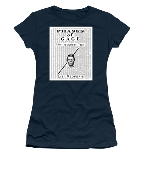 Phases Of Gage Book Poster  Women's T-Shirt (Athletic Fit)