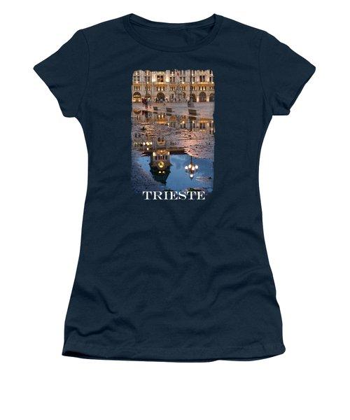 Piazza Unita In Trieste Women's T-Shirt (Athletic Fit)