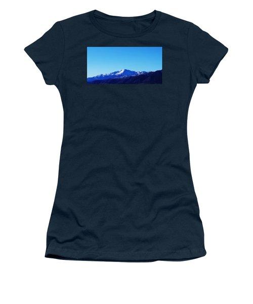 Women's T-Shirt (Junior Cut) featuring the photograph Pikes Peak by Joseph Frank Baraba