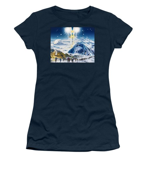 Pilgrimage Of The Lunatics Women's T-Shirt