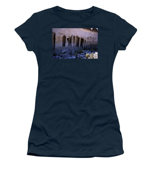 Pillars And Caves, Crowley Lake Women's T-Shirt (Junior Cut) by Michael Courtney