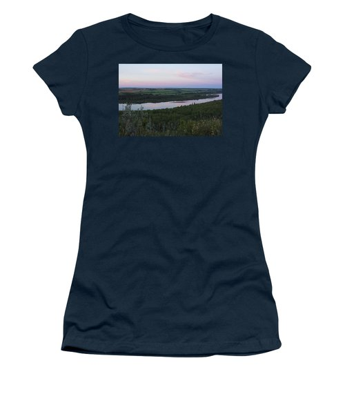 Pine Island Women's T-Shirt (Junior Cut) by Ellery Russell