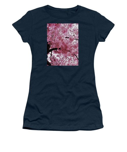 Pink Canopy Women's T-Shirt (Athletic Fit)