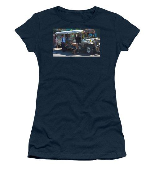 Pit Stop Women's T-Shirt