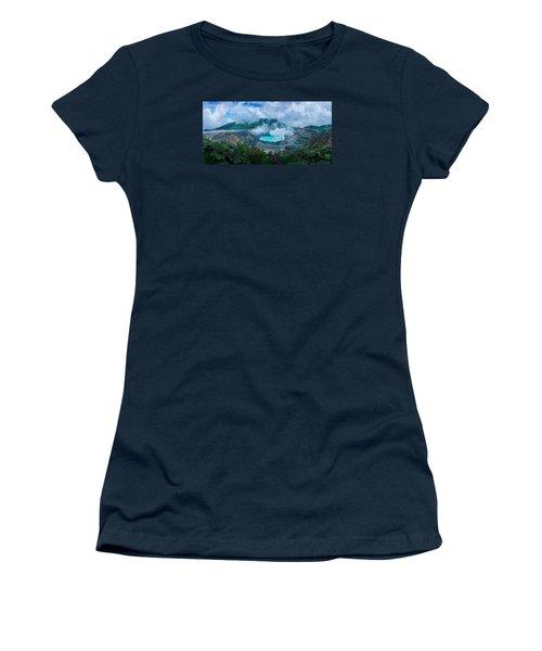 Poas Volcano, Costa Rica Women's T-Shirt (Junior Cut) by RC Pics