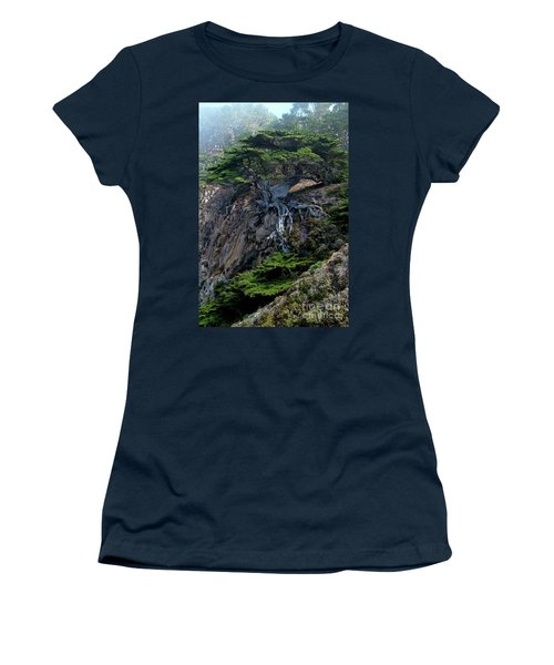 Point Lobos Veteran Cypress Tree Women's T-Shirt (Athletic Fit)