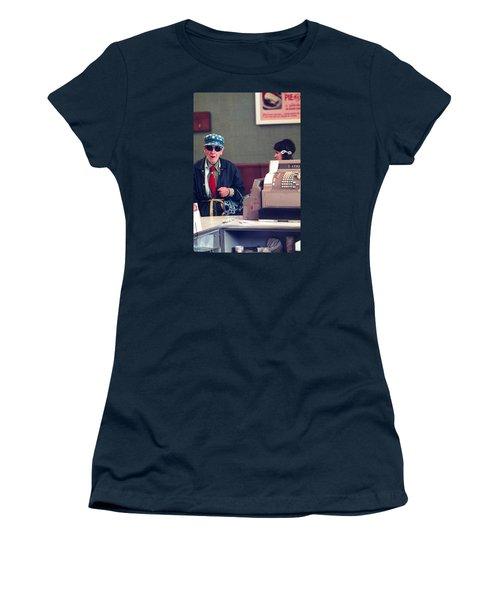 Polka Dots And Ice Cream Women's T-Shirt