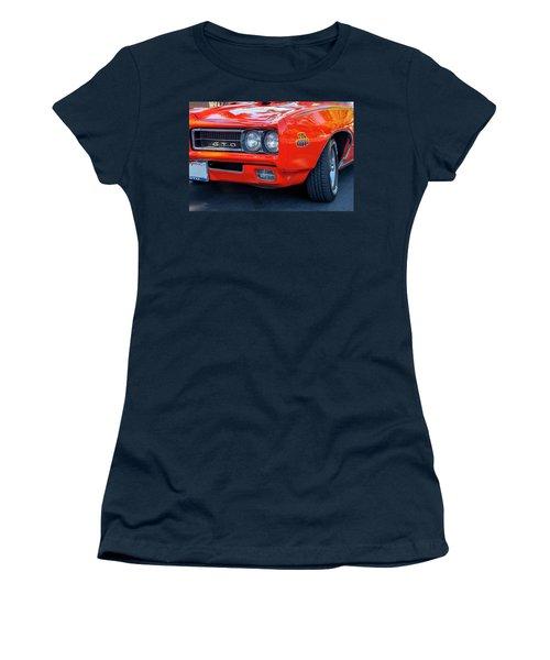 Pontiac G T O Judge 1969 Convertible Women's T-Shirt