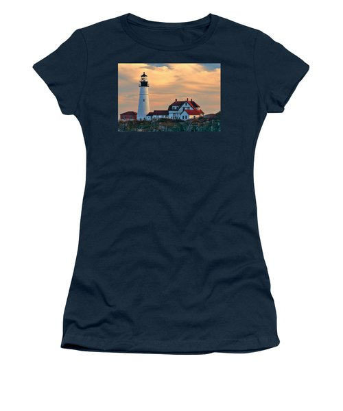 Portland Head Light-cape Elizabeth, Maine Women's T-Shirt