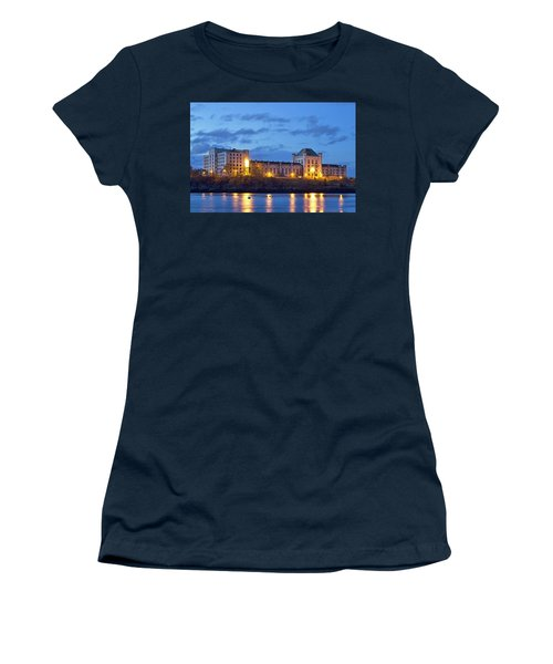 Portsmouth Naval Prison Women's T-Shirt (Athletic Fit)
