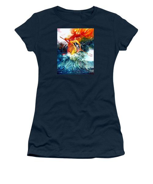 Poseidon Women's T-Shirt (Athletic Fit)