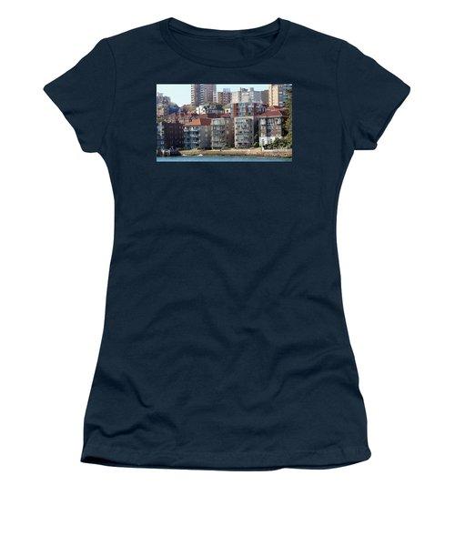 Women's T-Shirt (Junior Cut) featuring the photograph Posh Burbs by Stephen Mitchell