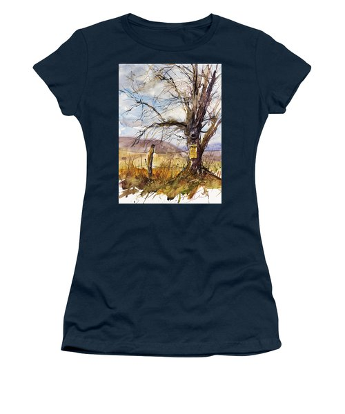 Posted Women's T-Shirt (Junior Cut) by Judith Levins