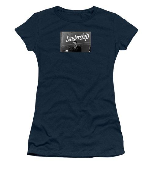 President Ronald Reagan Leadership Photo Women's T-Shirt