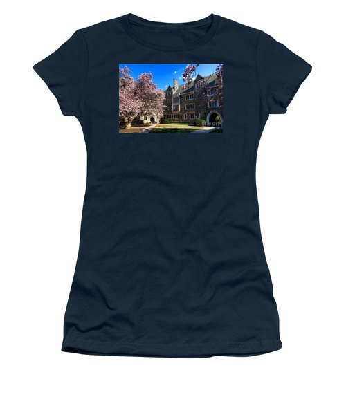 Princeton University Pyne Hall Courtyard Women's T-Shirt