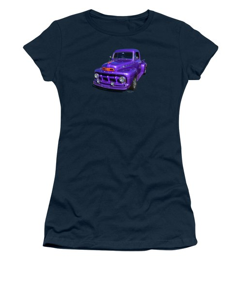 Purple 51 Women's T-Shirt (Athletic Fit)