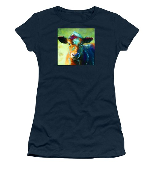 Rainbow Calf Women's T-Shirt (Athletic Fit)