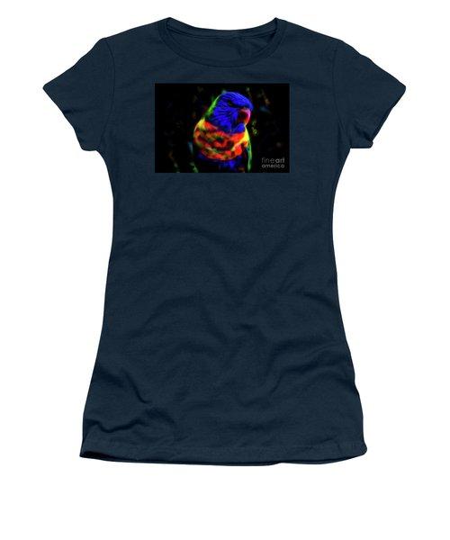 Rainbow Lorikeet - Fractal Women's T-Shirt