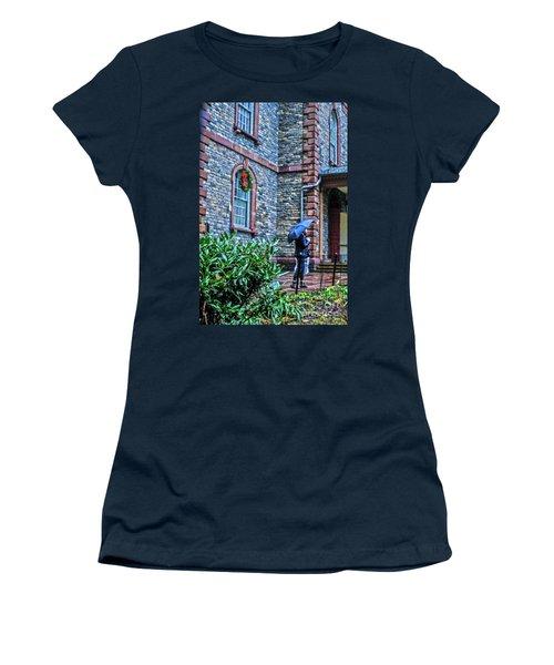 Rainy Sunday Women's T-Shirt (Junior Cut) by Sandy Moulder