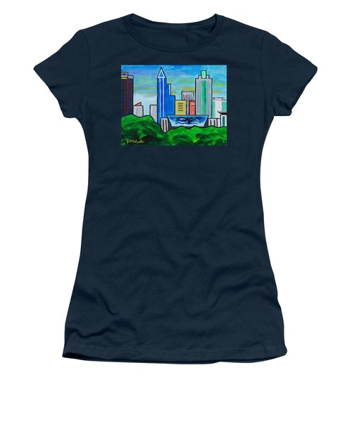 Raleigh Skyline 3 Women's T-Shirt (Athletic Fit)