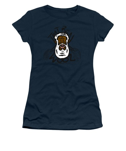 Real Wool Women's T-Shirt (Athletic Fit)