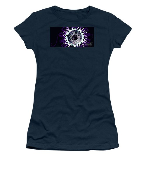 Receive And Believe In Black Women's T-Shirt (Athletic Fit)