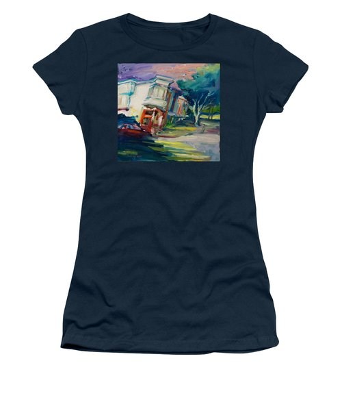 Red Cafe Women's T-Shirt (Athletic Fit)