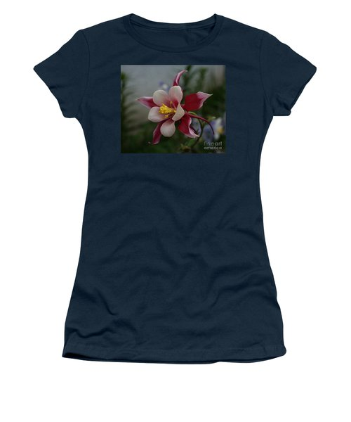 Red Columbine Women's T-Shirt (Athletic Fit)
