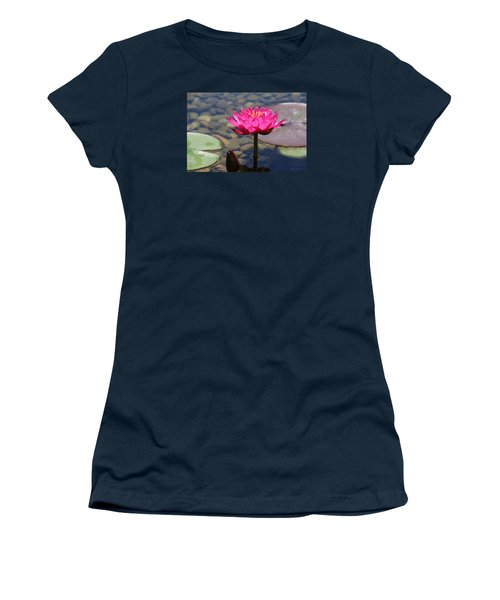 Red Lotus Women's T-Shirt (Athletic Fit)