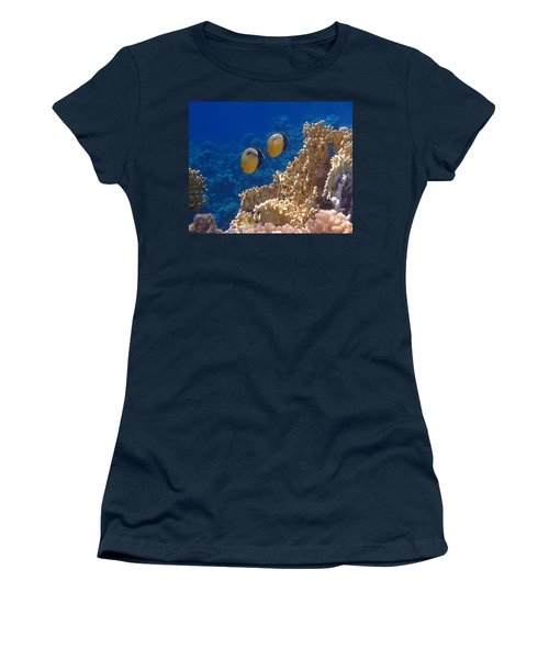 Red Sea Exquisite Butterflyfish  Women's T-Shirt