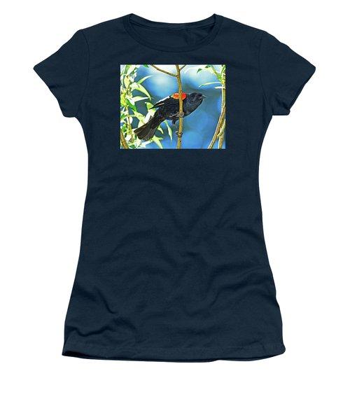 Redwing Blackbird Women's T-Shirt (Athletic Fit)