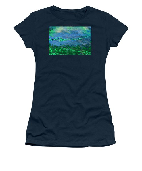 Reflecting Pond Women's T-Shirt (Athletic Fit)