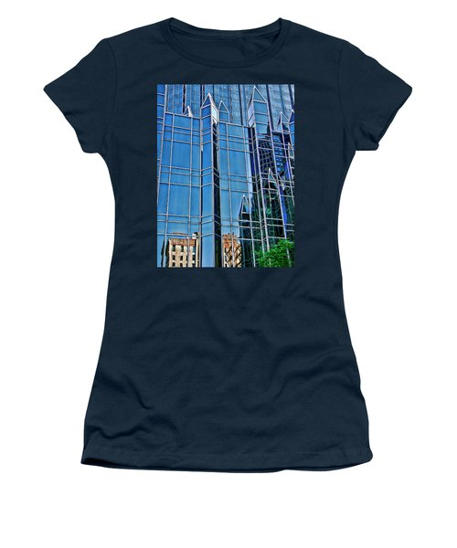 Women's T-Shirt (Junior Cut) featuring the photograph Reflections by Rhonda McDougall