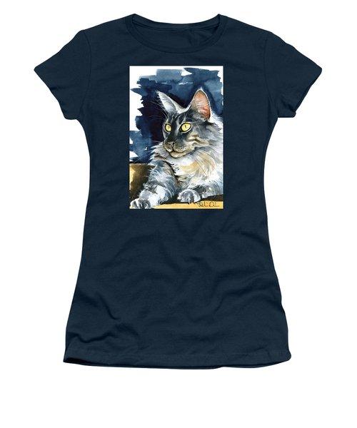 Regina - Maine Coon Painting Women's T-Shirt